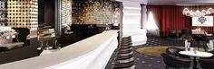 Kameha Grand Zürich, #Zurich #Switzerland - Puregold Bar #luxurytravel @kamehahr Convention Centre, Bar, Switzerland, Interior Design, Architecture, Nest Design, Arquitetura, Home Interior Design, Apartment Design