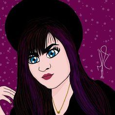 My best bad girl #sketchbook #autodesk #drawing #draw #desenho #desenhando #manga #girl #strangerthings #ilustra #ilustracao #illustration
