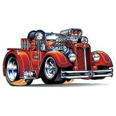 840 best ideas about Auto Toons/Drawings Cartoon Car Drawing, Cartoon Art, Cars Cartoon, Cool Car Drawings, Truck Tattoo, Hot Rod Pickup, Truck Art, Garage Art, Car Colors