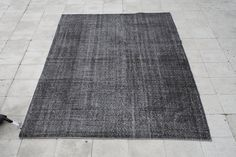 Overdyed Vintage Rug 5.5 X 8.5 FT ( 170 X 258 CM ) - Area Rugs