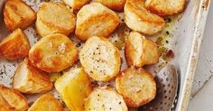 Light and fluffy on the inside and golden and crunchy on the outside, these spuds really are the best.