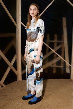 MM6 Maison Martin Margiela Pre-Fall 2015  Inspiration: a mash-up of Western Americana and Japanese styling