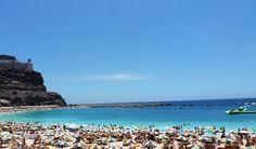 Beach at Amadores, Gran Canaria