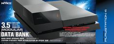 Nyko Data Bank  PlayStation 4 >>> You can find out more details at the link of the image.(It is Amazon affiliate link) #videogamecollection Playstation, Video Game Collection, Nintendo Games, Amazon, Image, Docking Station, Computer Hard Drive, Amazons, Riding Habit