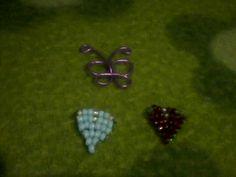 Corazones y mariposa