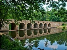 The dam and bridge in Cumberland Mountain, Tennessee is the largest masonry structure ever built by the Civilian Conservation Corps.