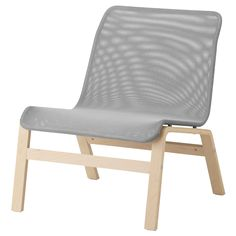 Oh hello cool new chair! If you were white I'd love you even more. NOLMYRA Easy chair - birch veneer/gray - IKEA