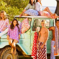 Whether they're on a beach-bound vacation, at summer camp, or simply spending spring break at home, teens love Roberta Roller Rabbit's block printed swimsuits, towels and tunics.