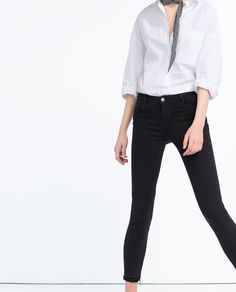 Image 2 of ESSENTIAL FITS JEANS from Zara