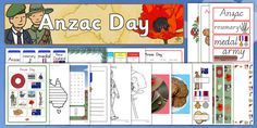 Anzac Day Resource Pack - anzac day, anzac, anzac day resources