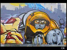 Graff en région Parisienne  By Alain Chantelat