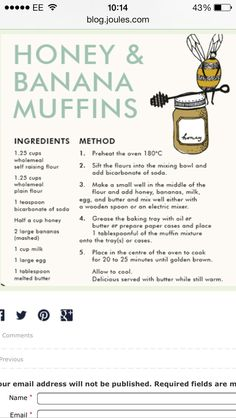 Love these healthy muffins