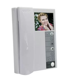 """Монитор видеодомофона VIZIT M440C M440C VIZIT-M440C - монитор цветного изображения (PAL, 3,5""""). Возможность подключения двух блоков вызова (БВД) при использовании блока коммутации БКМ-440(M), БКМ-441. Возможность подключения дополнительной телекамеры и кнопки """"Звонок"""" или БВД-403СРО.Технические характеристики:работа с двумя блоками вызова и дополнительной телекамерой при использовании блока коммутации монитора БКМ; возможность подключения одного БВД, кнопки """"Звонок"""" и дополнительной…"""