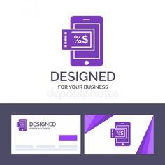 Creative Business Card And Logo Template Mobile Shopping Disco Stock Sponsored Card Logo Business Cards Creative Creative Business Logo Templates