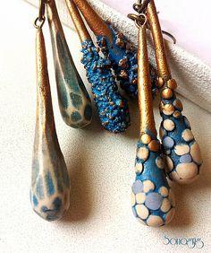 #blue #drop #collection #earrings #sonagrigoryan | www.sonag… | Flickr
