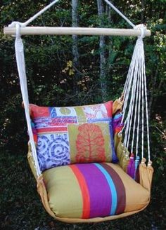 Awesome hammock chair.