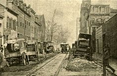 18 February 1893 . Wooster and Third Streets, Harpers Weekly