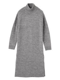 Ungrid(アングリッド)のワンピース、ロングスリットニットワンピースの商品詳細情報。Ungrid(アングリッド)公式ファッション通販【ランウェイチャンネル】。 公式通販ならではの充実商品。