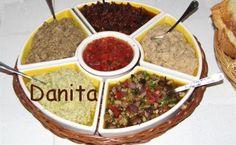 Le leccornie di Danita: Piatto misto di creme per bruschette