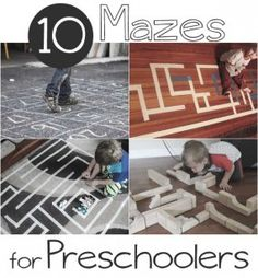 Mazes for Preschoolers