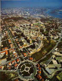 Praça do Império, Foz do Douro no Porto www.webook.pt #webookporto #porto #bestviews #foz #douro