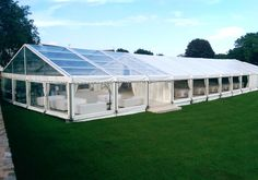 Wedding Marquee with Clear Roof Bar/Reception Area Wedding Marquee Hire, Tent Wedding, Garden Wedding, Wedding Venues, Dream Wedding, Luxury Wedding, Clear Marquee, Clear Tent, Outdoor Wedding Inspiration