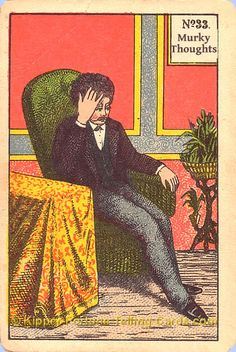 Murky thoughts meaning of Kipper Tarot cards