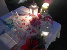 Una Cena Romantica durante la vostra Luna di Miele in Toscana all'agriturismo romantico e ristorante romantico Taverna di Bibbiano tra Colle di Val d'Elsa e San Gimignano, Siena.