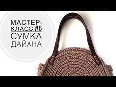 YouTube Free Crochet Bag, Diy Crochet, Crochet Handbags, Crochet Purses, Crochet T Shirts, Yarn Bag, Finger Knitting, Craft Bags, Handmade Handbags