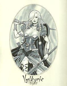 Valkyrie 1887 by Michael Dooney