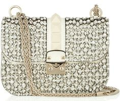 Studded crystal bag by Valentino