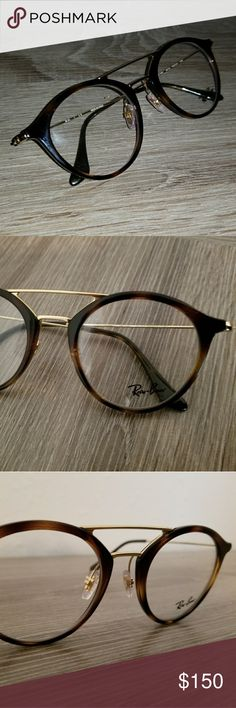 Authentic NEW Ray-ban eyeglasses Model # RX 7097 Color: TORTOISE  Size: 49-21-145 Ray-Ban Accessories Glasses