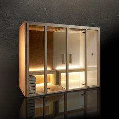Cabine sauna-portcril-01 grand modèle pour installation en intérieur