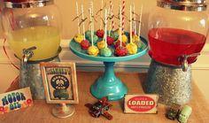 "VINTAGE ""RADIATOR SPRINGS"" CARS THEMED BIRTHDAY"