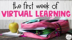 Online Classroom, School Classroom, Google Classroom, First Day Of School Activities, Teaching First Grade, Starting School, Beginning Of School, Teaching Technology, Technology Integration