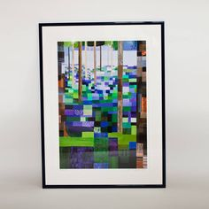 bluebell wood print by emma hardicker | notonthehighstreet.com
