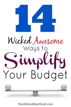 Overcomplicating your budget and the process of budgeting can be your downfall. If you find that you can't reach your financial goals, you may need to simplify. debt strategies, pay off debt, how to pay off debt Financial Budget, Financial Peace, Financial Goals, Dave Ramsey, Budgeting Finances, Budgeting Tips, Ways To Save Money, Money Saving Tips, Managing Money