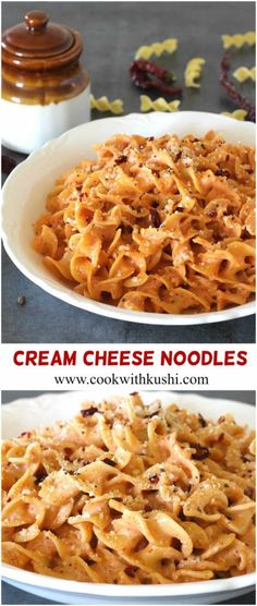 Cream Cheese Noodles is a super creamy and cheesy, rich and appetizing recipe that you should not miss to try if you are noodles or pasta lover like us #pasta #Noodles #cheese #sauce #creamcheese #dinnerrecipes #lunchideas #holiday #potluck #picnic#marinara #pizzarecipes #springrecipes #easydinnerideas #lunchboxrecipes