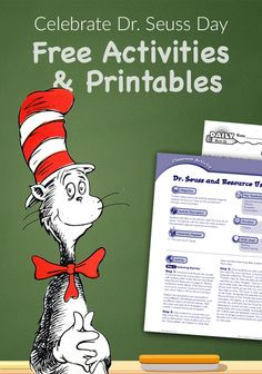 Free Dr. Seuss printables & activities for your classroom and kids. Download for free today at teachervision.com!