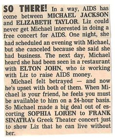 Jackson, Michael / So There! | Magazine Article (1987)