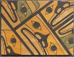 """Kinship of Community Original Painting   12""""x16""""   Acrylic on Canvas   Private Collection Vancouver, BC   September 2012"""