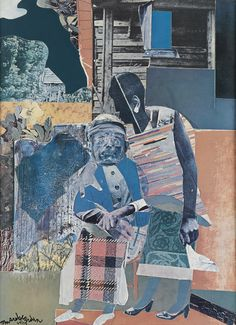 African American Culture, African American Artist, American Artists, Romare Bearden, Folk Art, Male Artists, Artsy, Auction, Collage