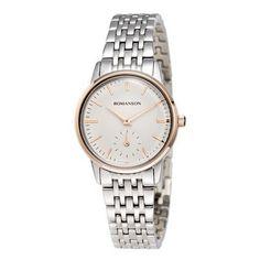 60a1e7751 Price Buy Quartz Women Dial Metal Strap Round shape Online in India.  Romanson · Women Modern Watches