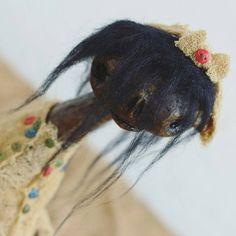 OOAK Art Doll  Creepy Halloween  Cute Kiki Mora by InSomeKingdom #RussianArtists, #RussianArtistsTeam, #Halloween