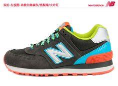 Genuina de compra New Balance 574 zapatos retro 2013 nuevos zapatos corrientes de los zapatos del caramelo