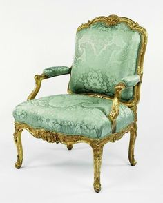 Rococo chair, circa France, from the collection of Getty museum. French Furniture, Classic Furniture, Unique Furniture, Rustic Furniture, Luxury Furniture, Vintage Furniture, Furniture Buyers, Furniture Companies, Cheap Furniture