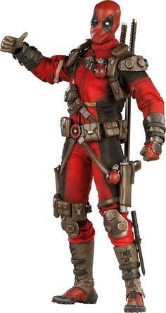 Deadpool Sixth Scale Figure $229.99 (Regular Edition)  Click on pictures above until you get to the Sideshow page with more pics, details, and to pre-order!!!