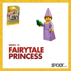 Lego Fairytale Princess Minifigures Series 12 - NEW SEALED IN BAG - SHIPS FAST #LEGO