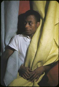 James Baldwin, captured by Carl Van Vechten.