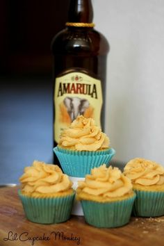 cool Amarula Fudge Cupcake with Amarula Buttercream Frosting Check more at http://www.foodiehalt.com/amarula-fudge-cupcake-amarula-buttercream-frosting/